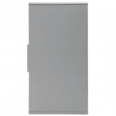 """Rubbermaid  Commercial SPILL MOP STORAGE CABINET, 15""""W X 6""""D X 27.5""""H, GRAY 2017162 1 Each"""