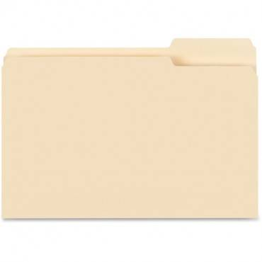 Business Source 1/3-cut Tab Legal Manila File Folders (BX/BOX)