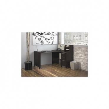 Enterprise Collection 60w X 47d Corner Desk, Mocha Cherry (box 1 Of 2)