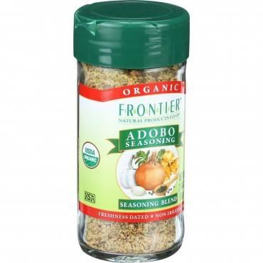 Frontier Herb Adobo Seasoning - Organic - 2.86 Oz