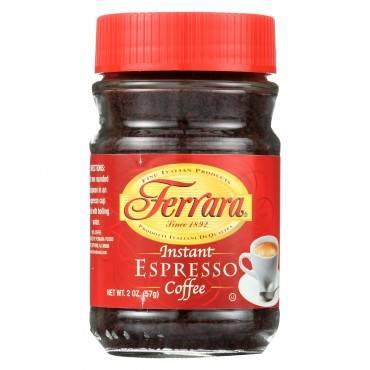 Ferrara Instant Espresso - Case of 12 - 2 oz