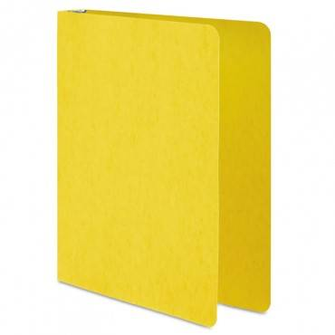 "Presstex Round Ring Binder, 3 Rings, 1"" Capacity, 11 X 8.5, Yellow"