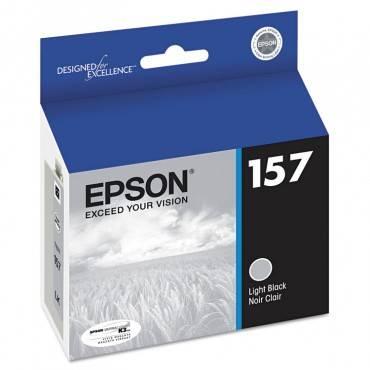 Epson  T157720 (157) Ultrachrome K3 Ink, Light Black