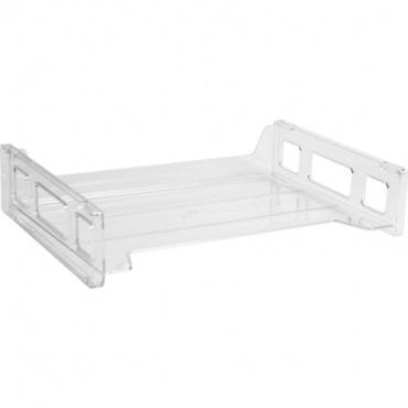Business Source Side-loading Stackable Letter Trays (EA/EACH)