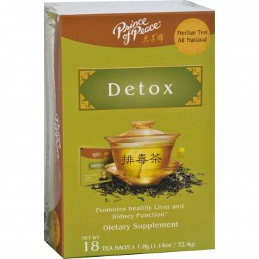 Prince of Peace Tea - Herbal - Detox - 18 Bags