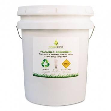 Eco-friendly Sorbent, Clay, 25 Lb Bucket