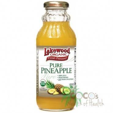 Lakewood Pineapple Juice - Pineapple - Case of 12 - 12.5 Fl oz.