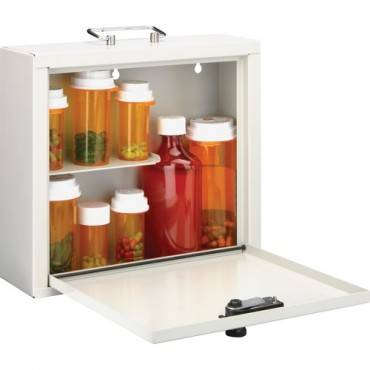 MMF Standard Steel Medication Case (EA/EACH)
