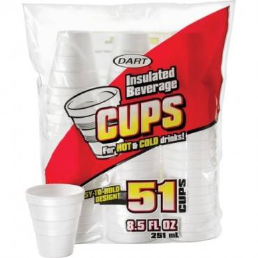 Dart Insulated 8-1/2 oz. Beverage Cups (PK/PACKAGE)