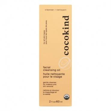 Cocokind Organic Facial Cleansing Oil - 2 Fl Oz.