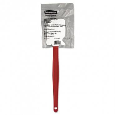"High-heat Cook's Scraper, 13 1/2"", Red/white"