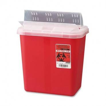 Covidien Sharps 2 Gallon Container with Lid (EA/EACH)