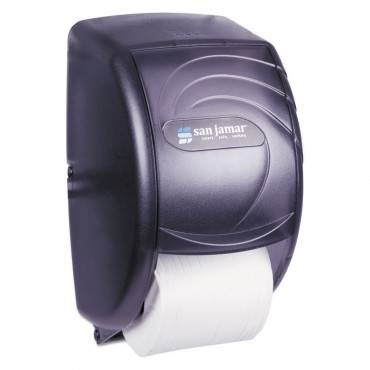 Duett Standard Bath Tissue Dispenser, Oceans, 7 1/2 X 7 X 12 3/4, Black Pearl