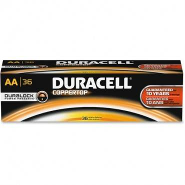 Duracell Coppertop Alkaline AA Battery - MN1500 (PK/PACKAGE)