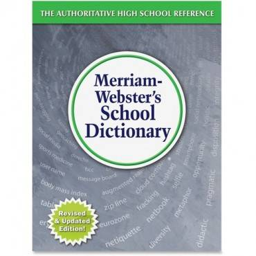 Merriam-Webster School Dictionary Dictionary Printed Book - English (EA/EACH)
