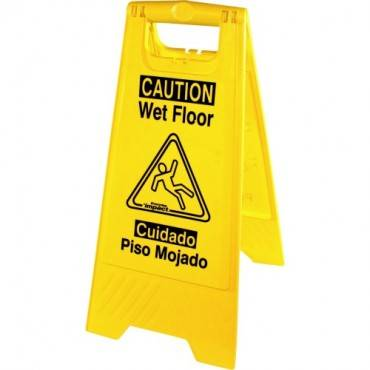 Genuine Joe Universal Graphic Wet Floor Sign (EA/EACH)