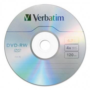Dvd-rw, 4.7gb, 4x, 30/pk Spindle