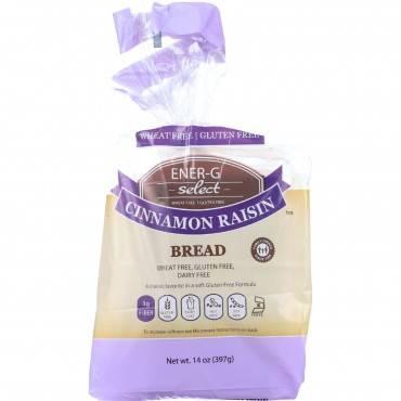 Ener-g Foods - Bread - Select - Cinnamon Raisin - 14 Oz - Case Of 6