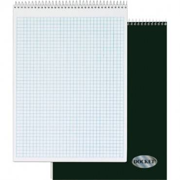 TOPS Docket Top Wire Quadrille Pad (EA/EACH)