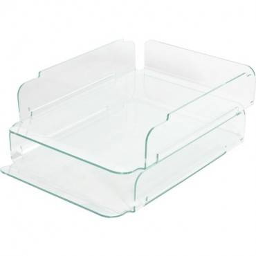 Lorell Stacking Letter Trays (EA/EACH)