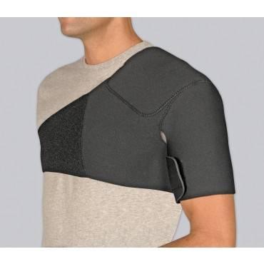 Safe-T-Sport Neoprene Shoulder Support Black Lg
