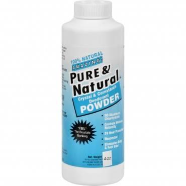 Thai Deodorant Stone Pure And Natural Powder - 4 Oz