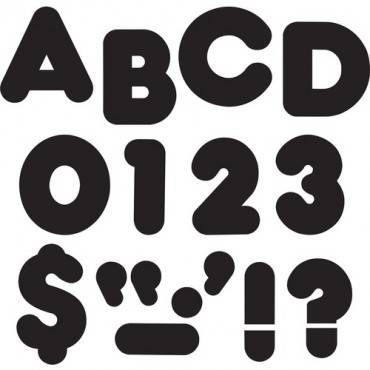"""Trend Reusable 2"""" Ready Alphabet Letters Set (PK/PACKAGE)"""