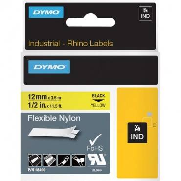 Dymo Rhino Flexible Nylon Labels (EA/EACH)