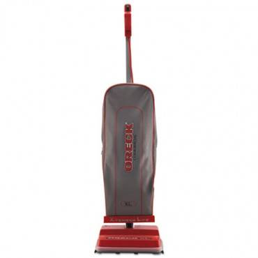 U2000r-1 Commercial Upright Vacuum, 120 V, Red/gray, 12 1/2 X 6 3/4 X 47 3/4
