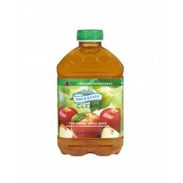Thickened Beverage Thick & Easyâ® 46 Oz. Container Bottle Apple Juice Flavor Ready To Use Nectar Consistency(6/ca)