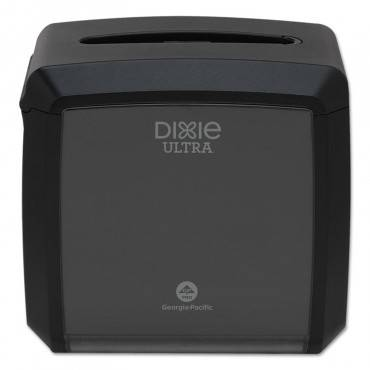 "Dixie  Ultra  TABLETOP NAPKIN DISPENSER, 7.6"" X 6.1"" X 7.2"", BLACK 54527A 1 Case"