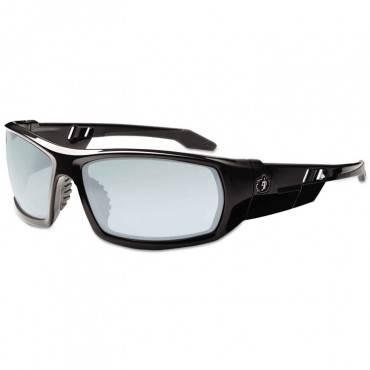 Skullerz Odin Safety Glasses, Black Frame/indoor/outdoor Lens, Nylon/polycarb