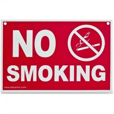 Advantus No Smoking Wall Sign (EA/EACH)