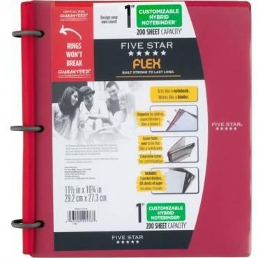 "Five Star FiveStar Flex Hybrid 1"" NoteBinder (EA/EACH)"