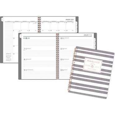 At-A-Glance Badge Stripe Weekly/Monthly Planner (EA/EACH)