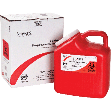 Sharps Recovery System, 2 Gal Part No. 12000012 (1/ea)