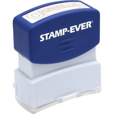 Stamp-Ever Pre-inked Cancelled Stamp (EA/EACH)