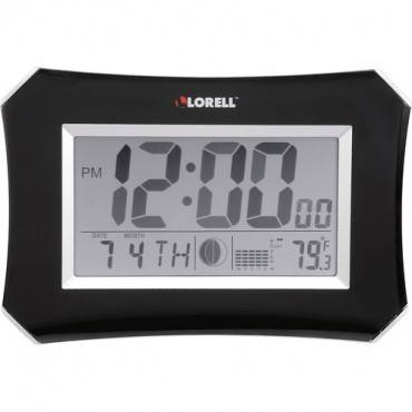 Lorell LCD Wall/Alarm Clock (EA/EACH)