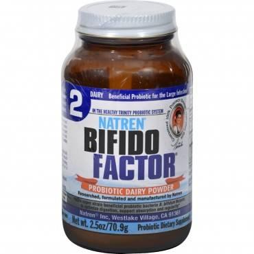 Natren Bifido Factor - 2.5 Oz