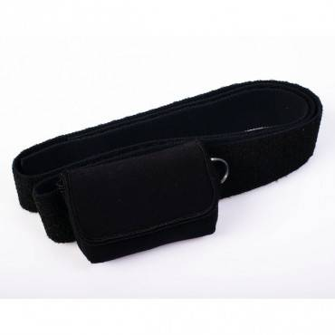 Waist-It Pouch with Elastic Straps, Black Part No. ACC-255BK Qty 1