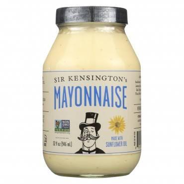 Sir Kensington's Classic Mayonnaise - Case Of 6 - 32 Fl Oz.