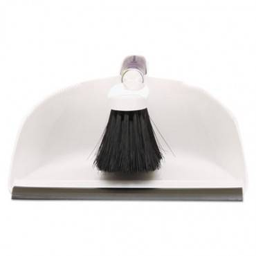 Rubbermaid  Commercial Duster Brush W/Plastic Dustpan, White