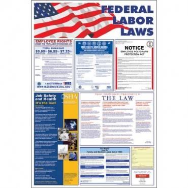 Advantus Federal Labor Law Poster (EA/EACH)