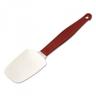 High Heat Scraper Spoon, Red W/white Blade, 9-1/2""