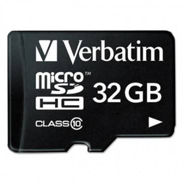 32gb Premium Microsdhc Memory Card With Adapter, Uhs-i V10 U1 Class 10