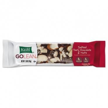 Golean Fiber & Protein Bars, Salted Dark Chocolate And Nuts, 1.59 Oz Bar, 8/box