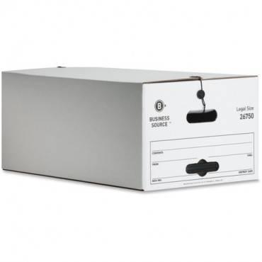 Business Source Light Duty Legal Size Storage Box (CA/CASE)
