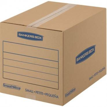 Fellowes SmoothMove™ Basic Moving Boxes, Small (PK/PACKAGE)