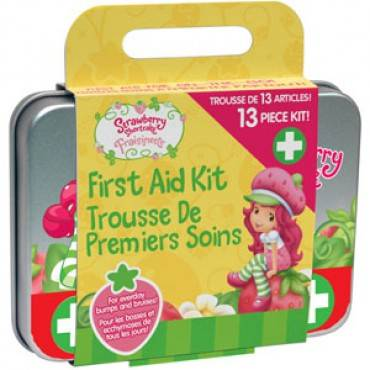Strawberry Shortcake First Aid Kit, 13 Piece (13/Each)