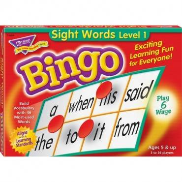 Trend Sight Words Bingo Game (EA/EACH)